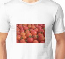 Tomatoes background Unisex T-Shirt