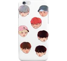 Bangtan chibi ver.2 iPhone Case/Skin