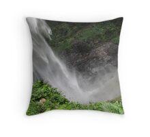 Waterfall Art Throw Pillow