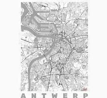 Antwerp Map Line Unisex T-Shirt