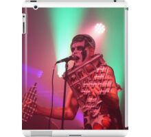 Dee Minor and the discords live on stage iPad Case/Skin