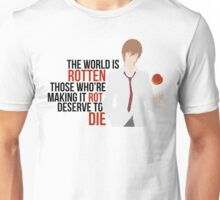 Death Note - Light Yagami Unisex T-Shirt