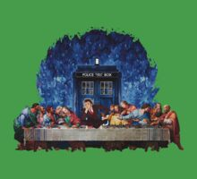 The Doctor Lost in the last Supper One Piece - Short Sleeve