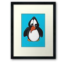 Pedro the Penguin Framed Print