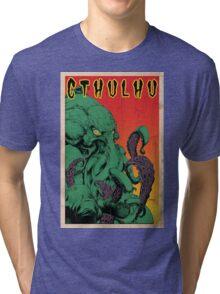 Cthulhu (Vintage) Tri-blend T-Shirt