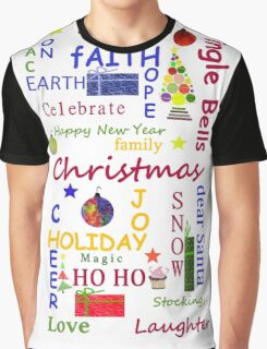 Christmas Message Graphic T-Shirt