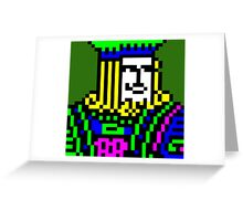 Freecell King Greeting Card