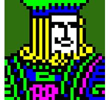 Freecell King Photographic Print