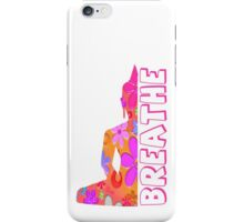 Buddha Breathe Hippie Flower Child  iPhone Case/Skin