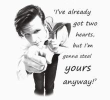 Time Lord Pick-Up Lines #8 by Alex Carvalho