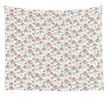 Watercolor summer vintage pattern with floral theme Wall Tapestry