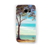 Two trees, Noosa National Park, Qld, Australia Samsung Galaxy Case/Skin