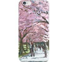 Edinburgh Meadows (Spring Blossom) Scotland iPhone Case/Skin