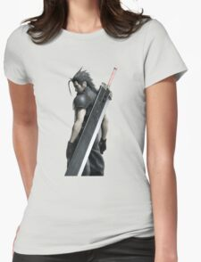 Final Fantasy VII Zack Womens Fitted T-Shirt