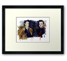 Cas & Crowley Framed Print