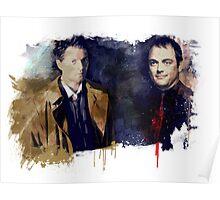 Cas & Crowley Poster