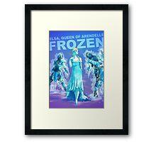 Frozen BADASS Framed Print