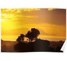 Last Sunset before Elections Poster