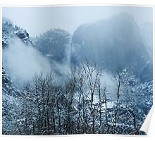 Yosemite winter  Poster