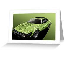 Poster artwork - Triumph TR7 Greeting Card