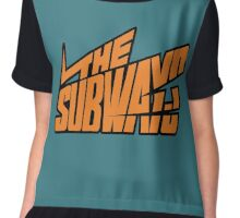 The Subways Chiffon Top