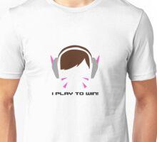 I Play To Win - DVA Unisex T-Shirt