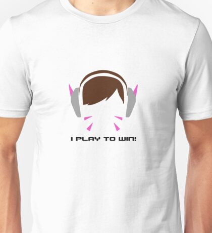I Play To Win - DVA Unisex T-Shirt