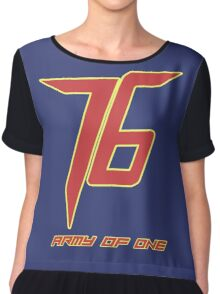 Soldier 76 Army Of One Chiffon Top