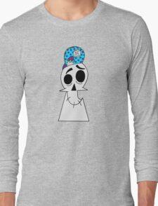Track Bike Nerd: Grim Edition Long Sleeve T-Shirt