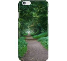 English Green Woodland  iPhone Case/Skin