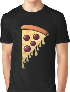 You Slice!...of Pizza - Black Graphic T-Shirt