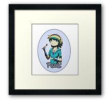 Anime Pisces Framed Print