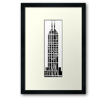 Indy Tower Framed Print