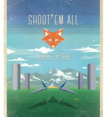SHOOT'EM ALL - INSPI STAR WING Sticker