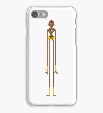 Pixel Dhalsim - White Edition iPhone Case/Skin