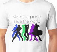 JJBA- Strike a Pose, Save the World! Unisex T-Shirt