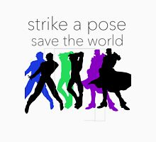JJBA- Strike a Pose, Save the World! Unisex T-Shirt