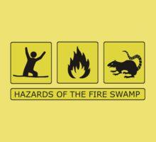 Hazards of The Fire Swamp Baby Tee