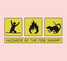 Hazards of The Fire Swamp Kids Tee