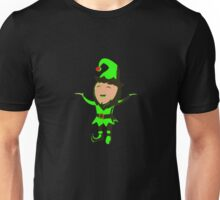 Christmas Elf Funny Unisex T-Shirt