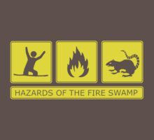 Hazards of the Fire Swamp One Piece - Short Sleeve