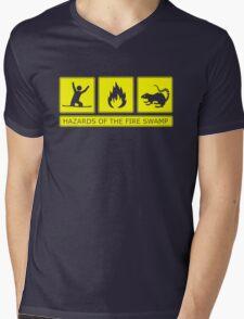 Hazards of the Fire Swamp Mens V-Neck T-Shirt