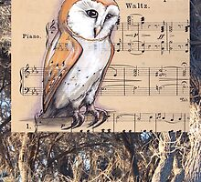 Woodland Whispers - Barn Owl by TwoShoes