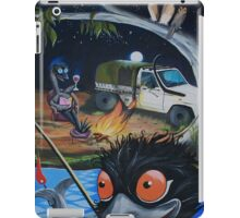 Relaxing Emus  iPad Case/Skin