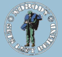 Nobody gets left behind - cookie monster version Kids Clothes