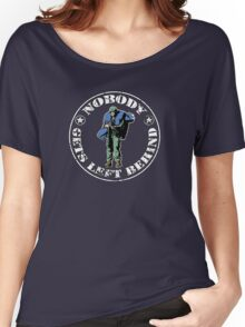 Nobody gets left behind - cookie monster version Women's Relaxed Fit T-Shirt