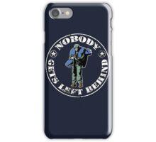 Nobody gets left behind - cookie monster version iPhone Case/Skin
