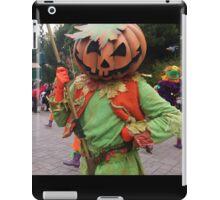 Pumpkin mask iPad Case/Skin