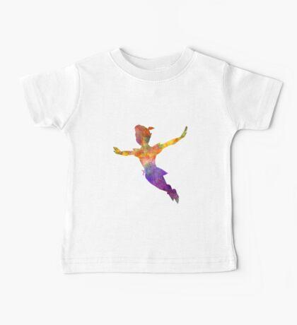 Peter Pan in watercolor Baby Tee