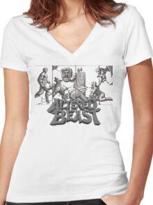ALTERED BEAST - SEGA ARCADE (2) Women's Fitted V-Neck T-Shirt
